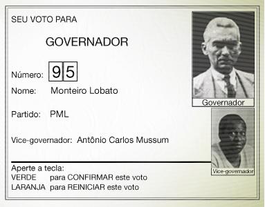 Meu governador é Monteiris Lobatis!